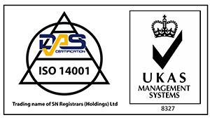 das 14001 certificate